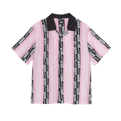 Stussy Deco Striped Shirt Pink