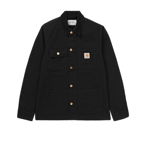 Carhartt Michigan Coat Black Rinsed