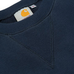 Carhartt Chase Sweat Navy - Kong Online - 2