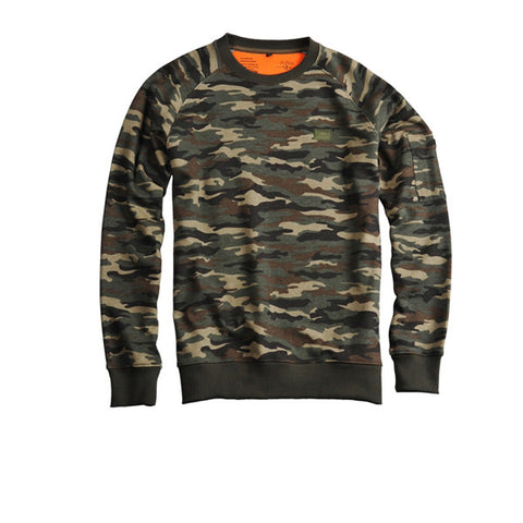 Alpha Industries X-Fit Sweat Woodland Camo