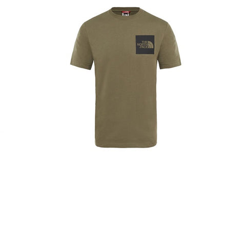 The North Face SS Fine Tee New Taupe Green