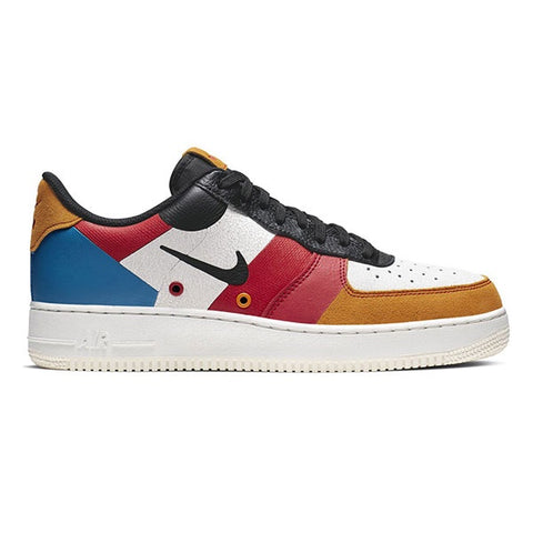 Nike Air Force 1 07 Premium 1 Sail Black Imperial Blue Amber Rise