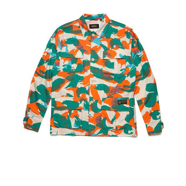 Deus Larry Jungle Shirt Multi Camo