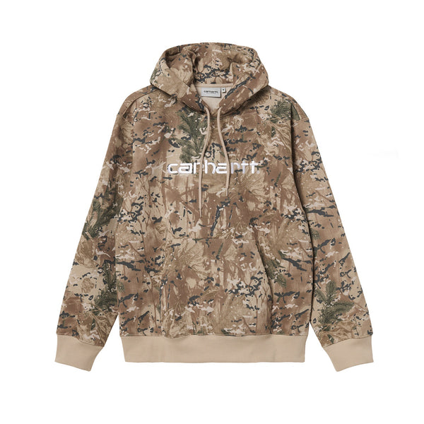 Carhartt WIP Hooded Sweat Camo Combi/Desert/White