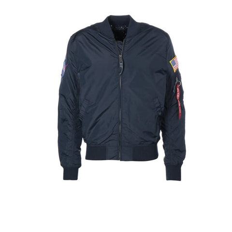 Alpha Industries MA1 TT NASA Reversible Rep Blue