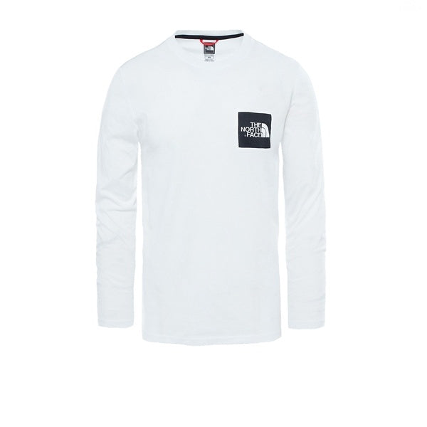 The North Face L/S Fine Tee TNF White