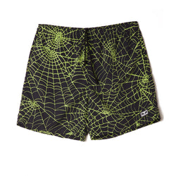 Obey Easy Relaxed Web Short Lime