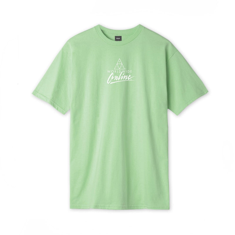 HUF SS Forbidden Domain T Shirt Mint