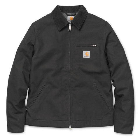 Carhartt Detroit Jacket Black Rigid - Kong Online