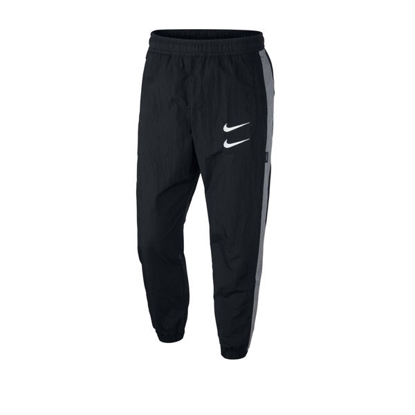 Nike Swoosh Woven Pant Black Particle Grey