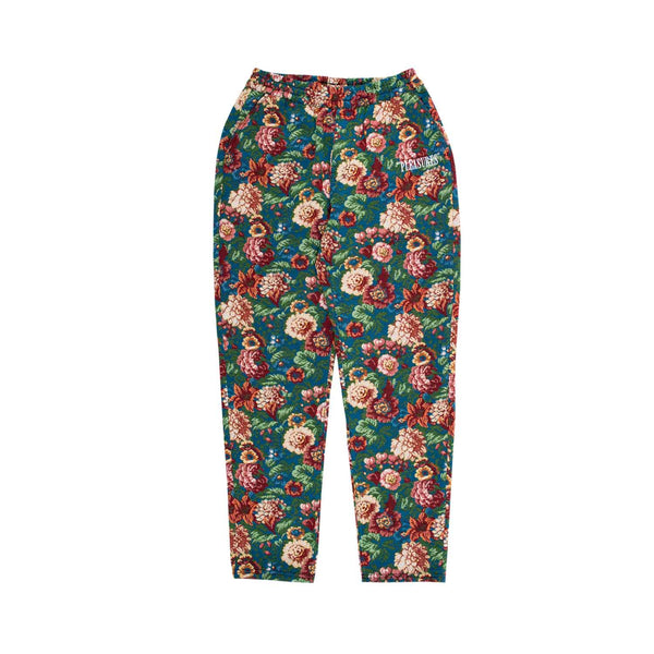Pleasures Studio Floral Beach Pant Blue