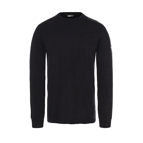 The North Face L/S Fine 2 Tee TNF Black