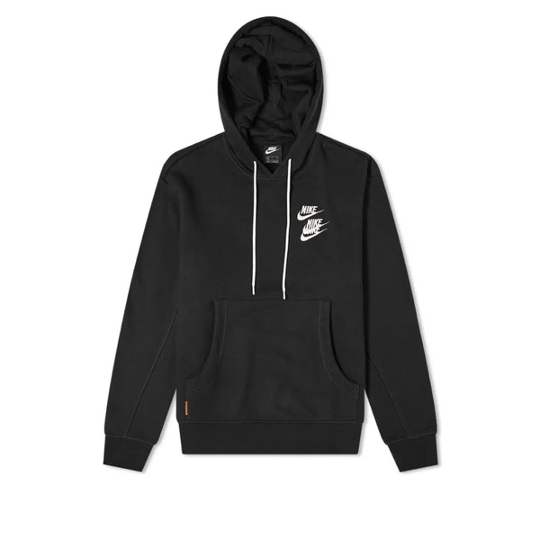 Nike Sportswear Pullover French Terry Hoodie World Tour Black