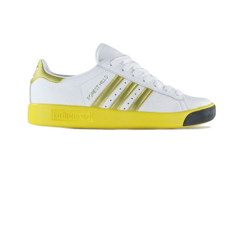 Adidas Forest Hills White Gold Metallic EQT Yellow