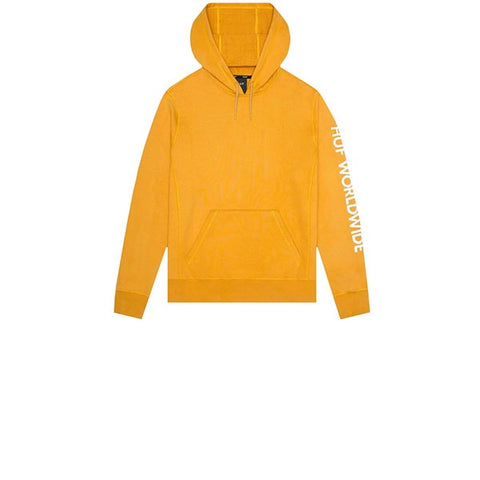 HUF Mission PO Hoodie Mineral Yellow