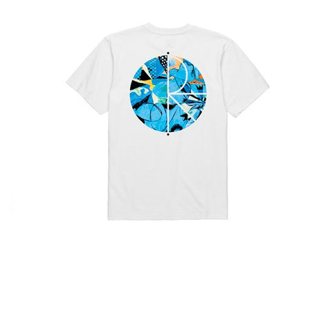 Polar Escape Route Fill Logo Tee White