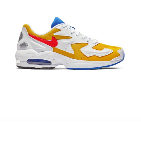 Nike Air Max 2 Light University Gold Flash Crimson