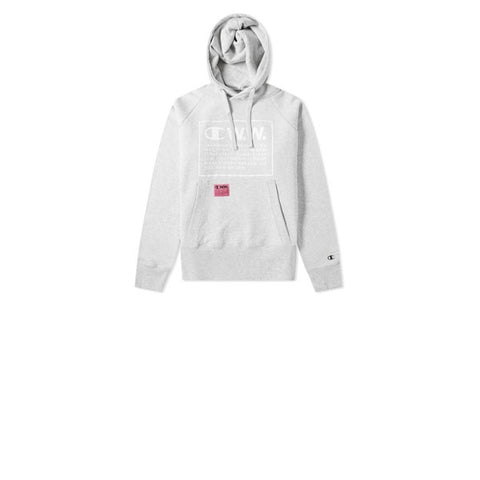 Champion x WOOD WOOD Hooded Sweatshirt Grey