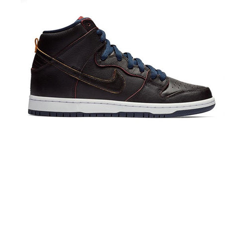 Nike SB Dunk High Pro NBA Black College Navy