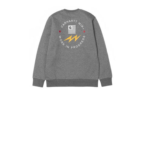 Carhartt State Sports Sweat Dark Grey Heather