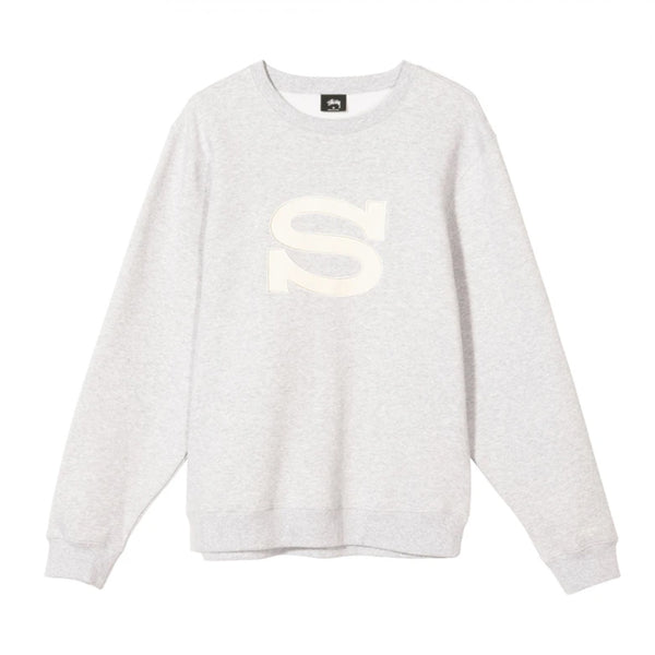 Stussy S App Crew Ash Heather