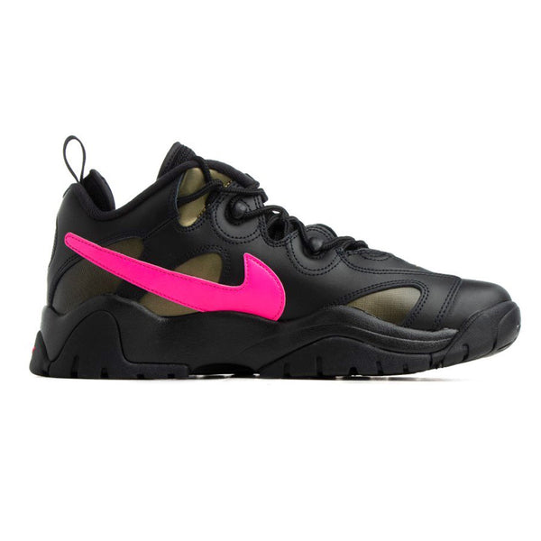 Nike Air Barrage Low QS Black Pink Blast Infinite Gold