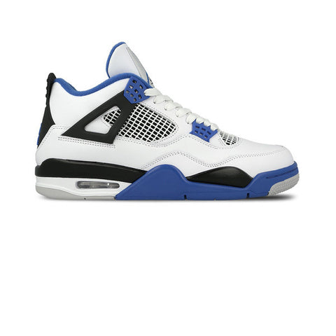Air Jordan 4 Retro White Game Royal Black