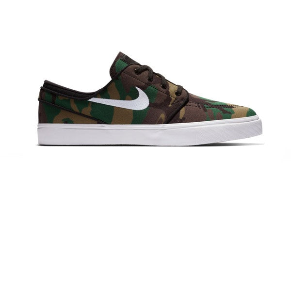 Nike SB Zoom Stefan Janoski Canvas Multi White