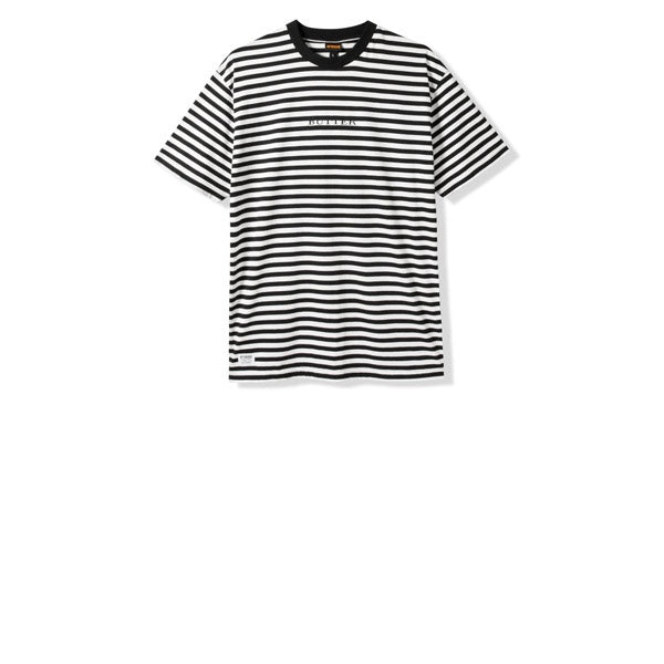 Butter Goods Butter Hampshire Stripe Tee Black
