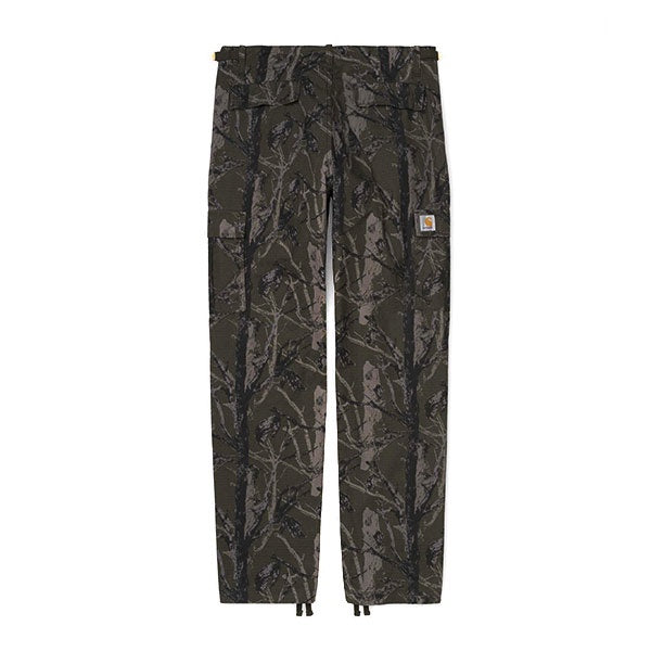 Carhartt Aviation Pant Camo Tree Green Rinsed