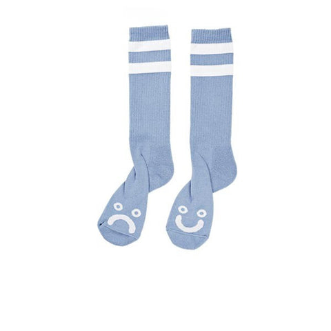 Polar Happy Sad Classic Sock Powder Blue