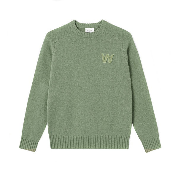 WOOD WOOD Kevin Sweater Dusty Green