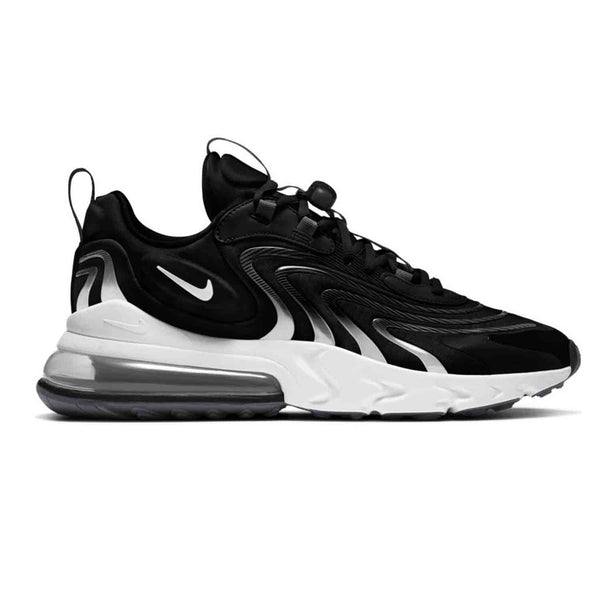 Nike Air Max 270 React ENG Black White Smoke Grey