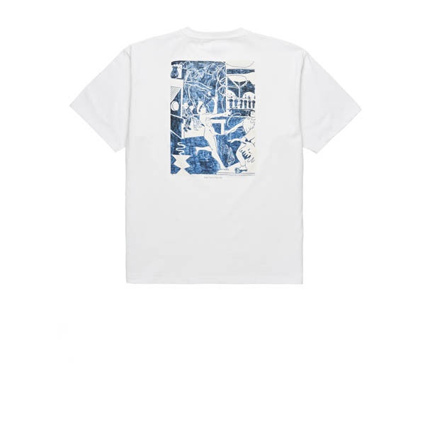 Polar Stage Three Tee White