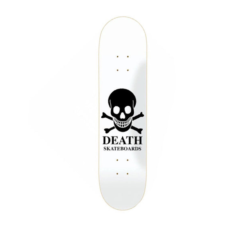 Death Skull Deck White Black