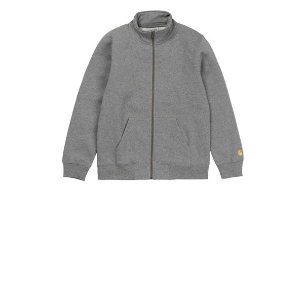 Carhartt Chase Neck Jacket Dark Grey Heather Gold