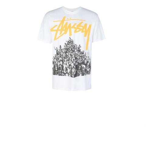 Stussy Beach Mob Pig Dyed Tee Natural Yellow