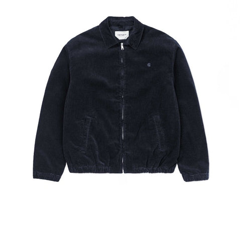 Carhartt Madison Jacket Dark Navy Rinsed