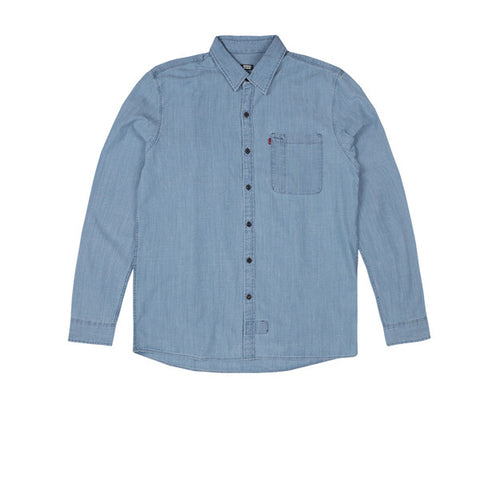Levis Skate Riveter Shirt Washed Blue