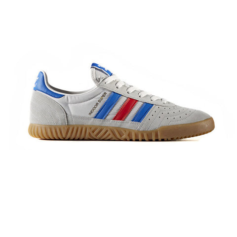 Adidas Indoor Super Clear Onix Blue Red