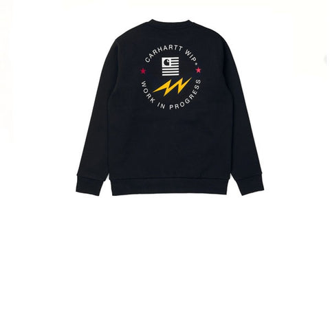 Carhartt State Sports Sweat Black