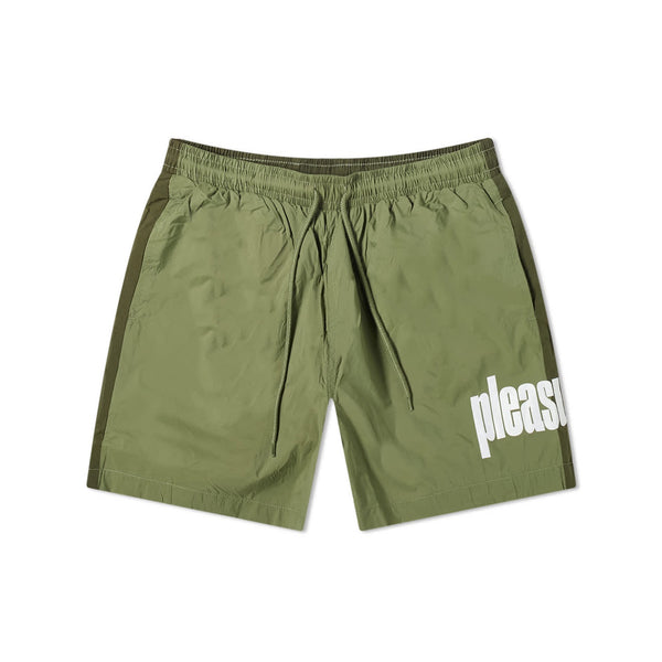 Pleasures Electric Active Shorts Green