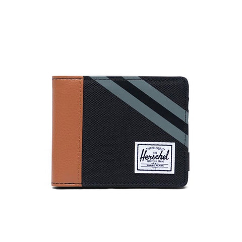 Herschel Roy RFID Black Synthetic Leather
