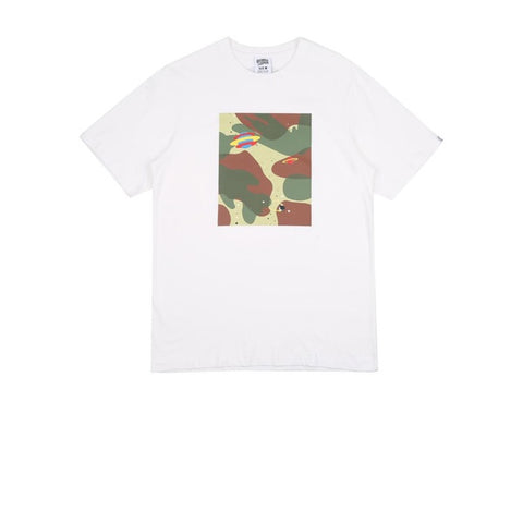 BBC Space Camo Tile T-Shirt White