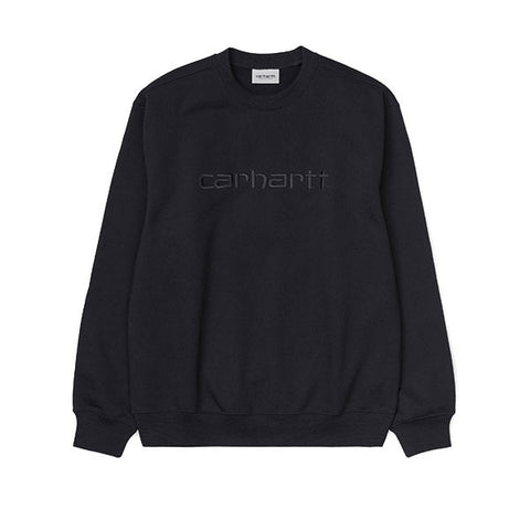 Carhartt Sweat Black Black