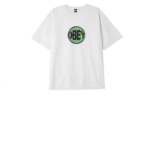 Obey Obey Ball Tee White