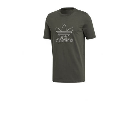 Adidas Outline Tee Night Cargo
