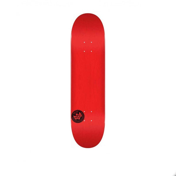 Mini Logo Deck Chevron Brich Dyed Red