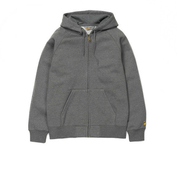 Carhartt Hooded Chase Jacket Dark Grey - Kong Online - 1