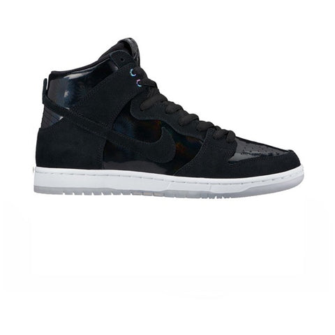 Nike SB Dunk High Pro Black Black White Clear